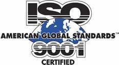 ISO American Global Standard 9001 Certified